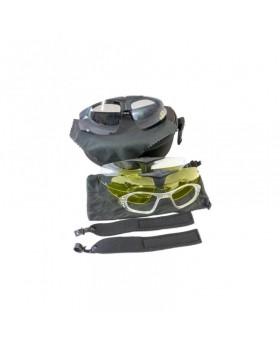 Σκοπευτικά Γυαλιά DV Με 3 Ανταλλάξιμους Φακούς