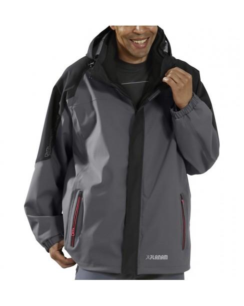 Αδιάβροχο Μπουφάν Triple Jacket 3641 γκρί/μαύρο