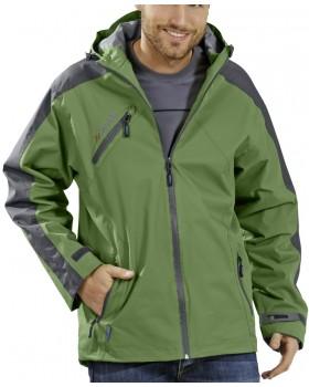 Αδιάβροχο Μπουφάν Splash Jacket 1496 πράσινο/γκρί