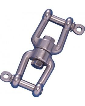 Στριφτάρι Διπλό Κλειδί Ανοξείδωτο 8mm