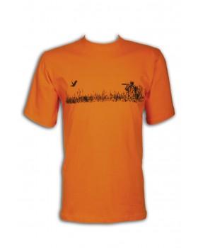 Μπλουζάκι Toxotis Πορτοκαλί 050