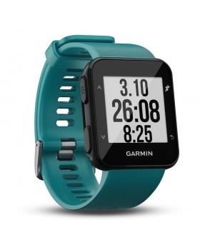 Ρολόι GPS με Καρδιοσυχνόμετρο Καρπού Forerunner 30 Turquoise