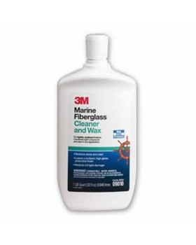 3M-Marine Fiberglass Cleaner And Wax 1000ml