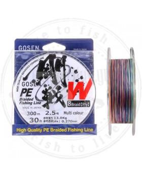 Gosen W8 PE 1 300m Multicolor