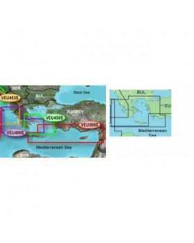 Χάρτες BlueChart G2 Vision Κεντρική Μεσόγειος Καλύπτει και το Ιόνιο (VEU716L)