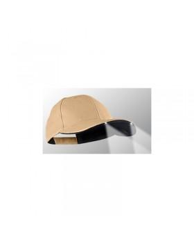 Power Caps CUL2 structured*, khaki tan, μαύρο γείσο