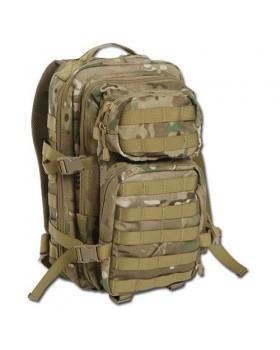 Mil-Tec-Σάκος Πλάτης Assault SM Tactical 20 Λίτρων -Παραλλαγής Multitarn