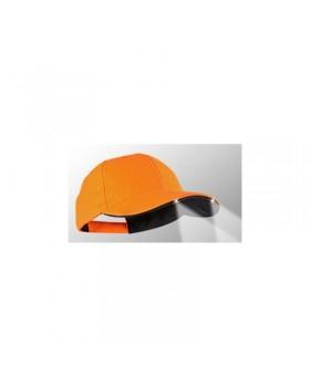 Power Caps CUL2 structured*, πορτοκαλί, μαύρο γείσο