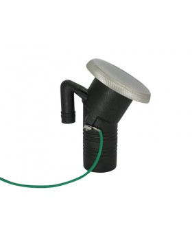 Τάπα Πλήρωσης Γωνιακή Πλαστική Με Inox Καπάκι Καυσίμου