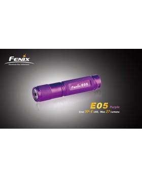 Φακός Fenix E05 LED Flashlight Purple