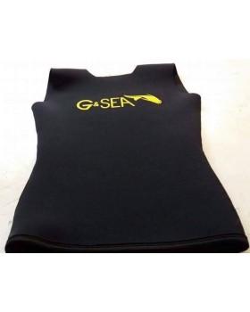 Γιλέκο 3mm Jersey-Λείο G&Sea