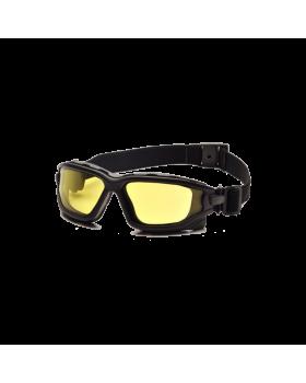 Γυαλιά Soft Strike System Με Διπλό Τζάμι Κίτρινο