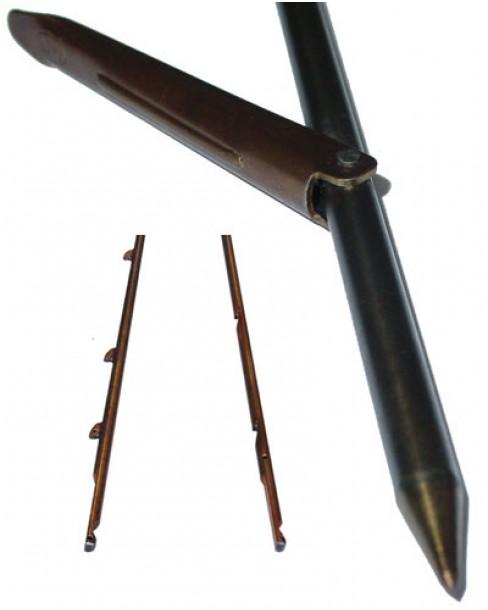 Βέργα Ταϊτής Bucanero Mονόφτερη Kαρχαριάκια 7.0mm