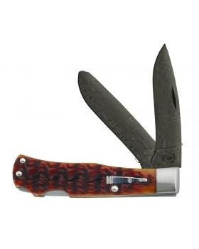 Σουγιάς Remington Bullet Knife Double Trapper Damascus