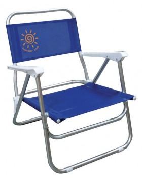Καρέκλα Αλουμινίου Παραλίας VI Με Χαμηλή Πλάτη