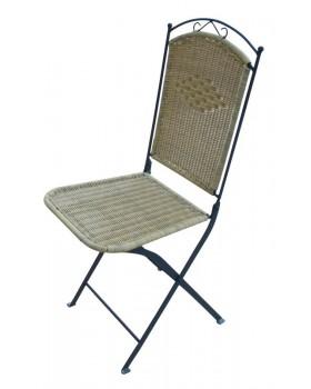 Καρέκλα Como Μεταλλική Mασίφ