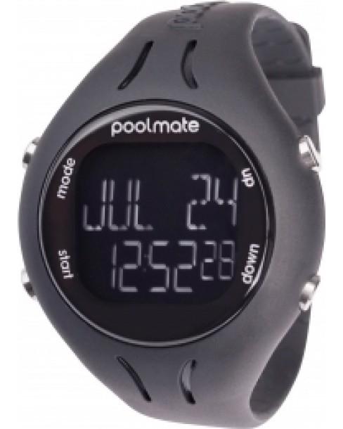Ρολόι Swimovate Poolmate2 Black Rubber Strap