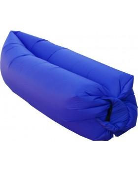 Lazy Bag 15320 Φουσκωτό Στρώμα & Κάθισμα Ξαπλώστρα Γαλάζιο