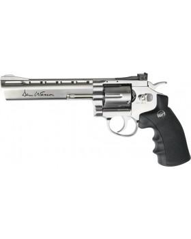"""Asg Dan Wesson 6"""" Revolver Silver"""