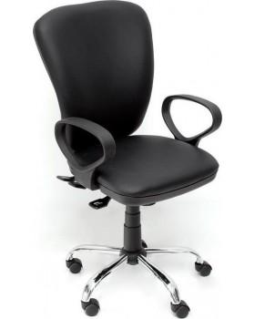 Καρέκλα Γραφείου Μαύρη Velco 66-22396