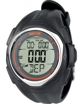 Ρολόι Κατάδυσης Seac Sub Partner Watch Computer Black