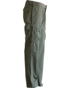 Toxotis Active Wear Παντελόνι Rip-Stop Olive Green με 6 Τσέπες