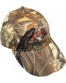 Καπέλο Jockey Dispan Μπεκάτσα Παραλλαγή Real Tree 619