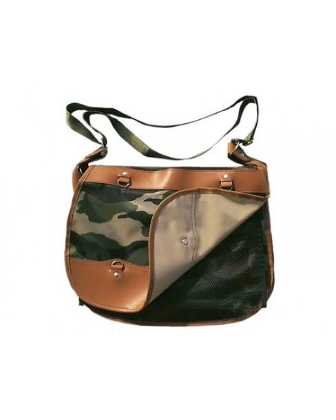 Δερμάτινη Χιαστή Τσάντα Δ1