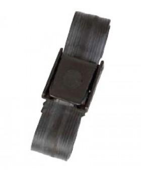 Ζώνη Ελαστική μαύρη ζώνη 3mm