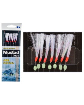 Mustad-Τσαπαρί Με 7 Αγκίστρια Τ83