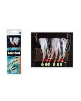 Mustad-Τσαπαρί Με 6 Αγκίστρια  Τ85