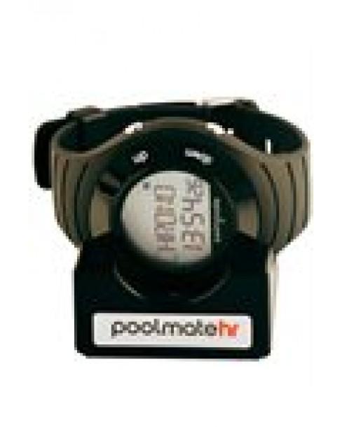 Ρολόι Swimovate PoolmateHR Black Rubber Strap