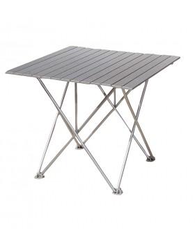 Τραπέζι Αλουμινίου Σε Θήκη 70x70cm