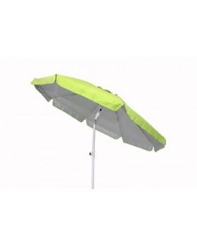 Ομπρέλα Παραλίας 2m, Χρώμα Λαχανί