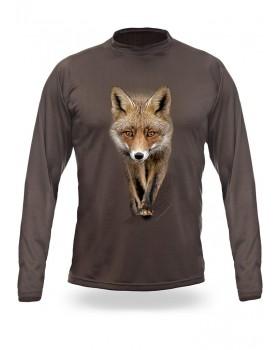 T-Shirt Μακρύ Αλεπού 3D
