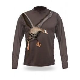 T-Shirt Μακρύ Χήνα 3D ΖΑΚΕΤΕΣ-ΠΟΥΛΟΒΕΡ-FLEECE