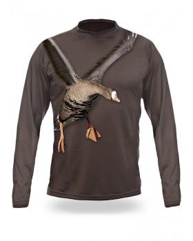 T-Shirt Μακρύ Χήνα 3D