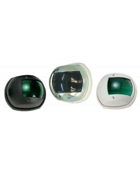 Πλευρικός Φανός Πράσινος Με Κέλυφος Μαύρο Και Λευκό