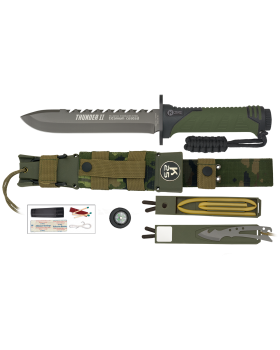 ΜΑΧΑΙΡΙ K25 Tactical Knife THUNDER II GREEN  ENERGY 32134