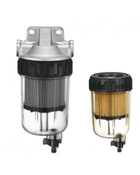 Διάφανο Φίλτρο-Διαχωριστής Νερού/Βενζίνης Για Mercury/Yamaha Με Βρυσάκι