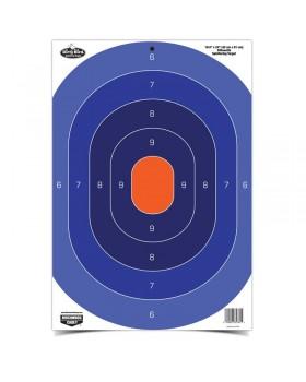 """Στόχος Dirty Bird® 16.5"""" x 24"""" Blue / Orange Silhouette"""