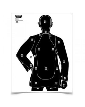 """Στόχος Eze-Scorer™ 35"""" x 45"""" B-21 Silhouette"""