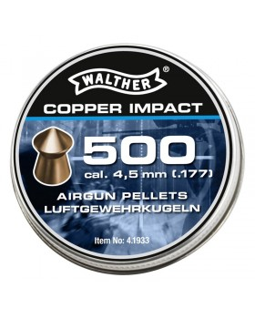 Walther Copper Impact pellets 4.5mm
