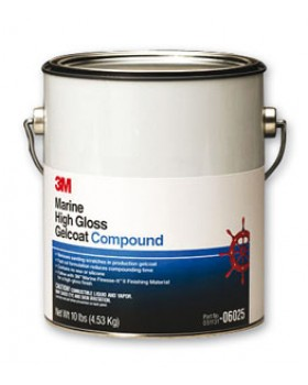 3M-Marine High Gelcoat Compound