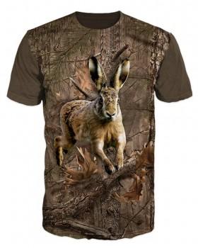Must Hunt T shirt Λαγός