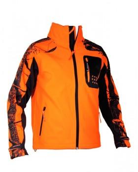 Jacket Univers Softshell Camo/Orange 96011-055