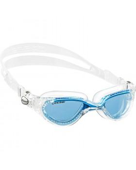 Cressi Γυαλάκια Κολύμβησης Flash Clear Frame Clear/Blue Azure
