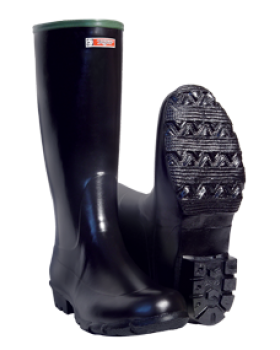 Γαλότσα Γονάτου Tigar Canada Work Boot 70200 Μαύρο