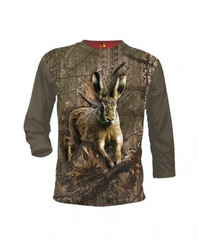 Must Hunt Μπλουζάκι 3D Λαγός