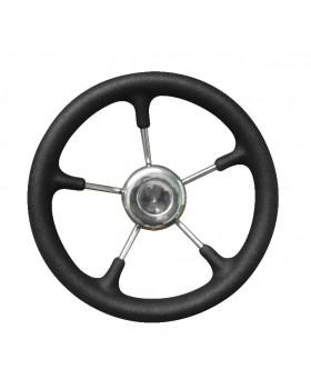 Τιμόνι Inox Με Λαβή Πολυουρεθάνης 320mm